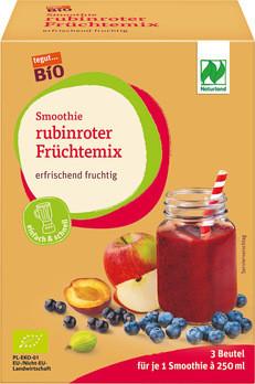 Smoothie rubinroter Früchtemix (tiefgekühlt)