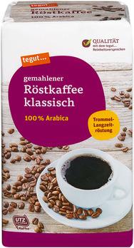 gemahlener Röstkaffee klassisch