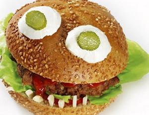 Vampir-Burger