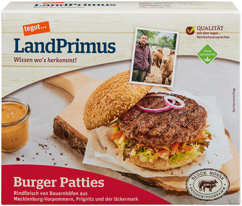 LandPrimus Burger Patties