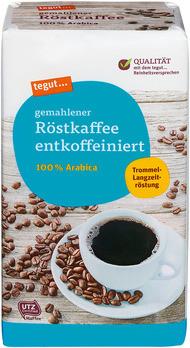 gemahlener Röstkaffee entkoffeiniert