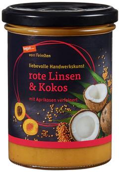 Suppe rote Linsen & Kokos