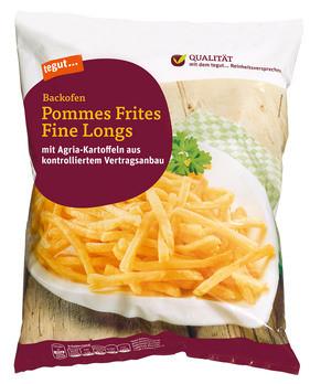 Backofen Pommes Frites Fine Longs