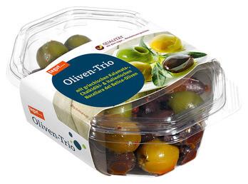 Oliven-Trio