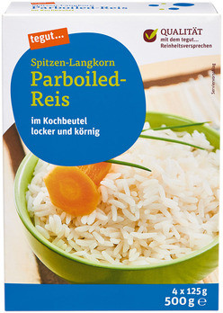 Spitzen-Langkorn Parboiled-Reis KB