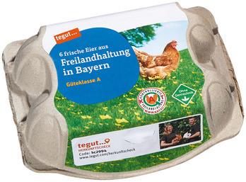 6 Eier aus Freilandhaltung Bayern