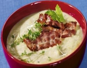 Staudensellerie-Suppe