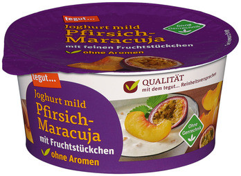 Joghurt mild Pfirsich-Maracuja