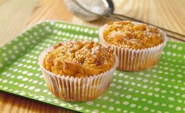Ingwer-Muffins mit Kürbis