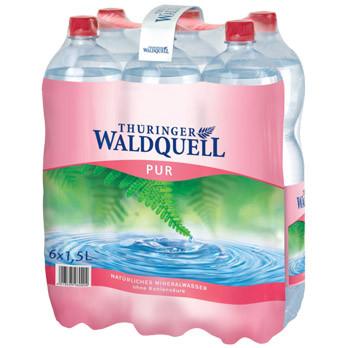 Thüringer Waldquell Mineralwasser pur 6er-Pack