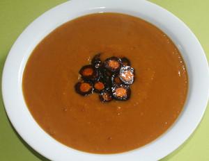 Möhren-Pastinaken-Kürbis-Suppe