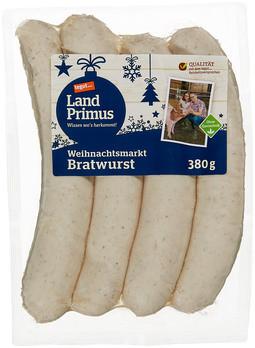 Weihnachtsmarkt Bratwurst