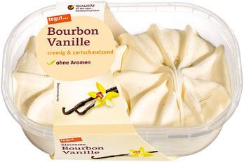 Eiscreme Bourbon Vanille