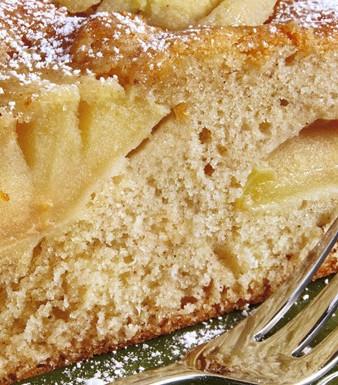 Versunkener Apfelkuchen