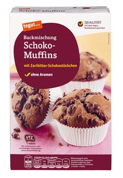 Backmischung Schoko-Muffins