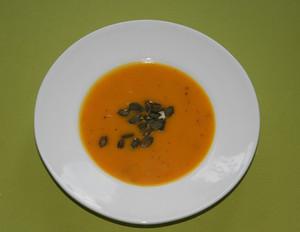 Kürbis-Kartoffel-Suppe