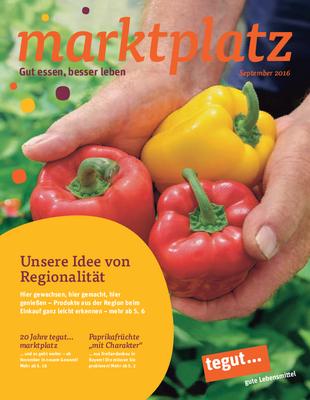 tegut... Kundenmagazin September 2016