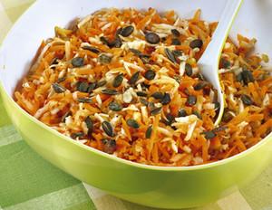 Picknick-Salat mit Kürbiskernen