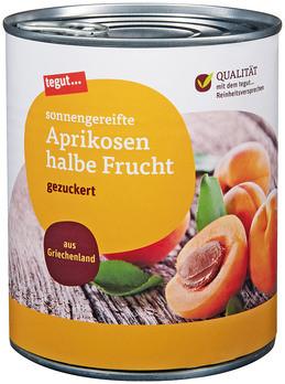 Aprikosen halbe Frucht 850 ml