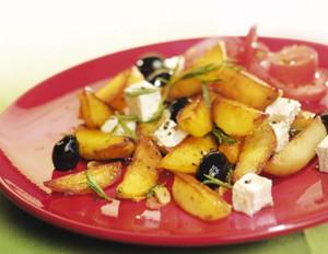 Rosmarin-Kartoffeln mit Fetakäse