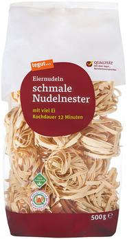 schmale Nudelnester