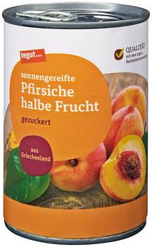 Pfirsiche halbe Frucht 425 ml