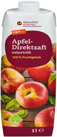Apfel-Direktsaft naturtrüb