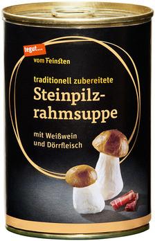 Steinpilzrahmsuppe
