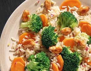 Brokkoli-Reis-Pfanne