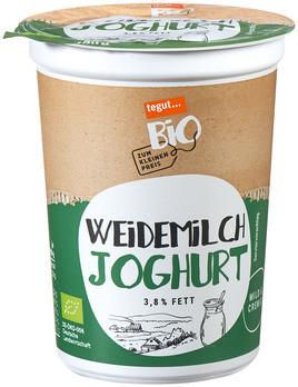 Weidemilch Joghurt 3,8% Fett