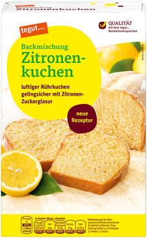 Backmischung Zitronenkuchen
