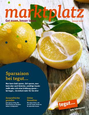 tegut... Kundenmagazin Januar 2016