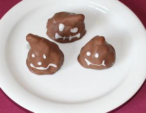 Schoko-Cookies für Halloween