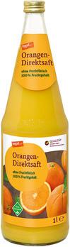 Orangen-Direktsaft Glasflasche