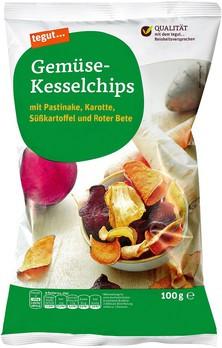 Gemüse-Kesselchips
