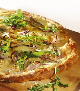 Rucola-Gorgonzola-Pizza