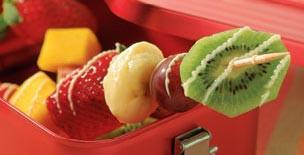 Fruchtspieße fürs Picknick