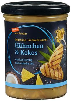 Suppe Hühnchen & Kokos