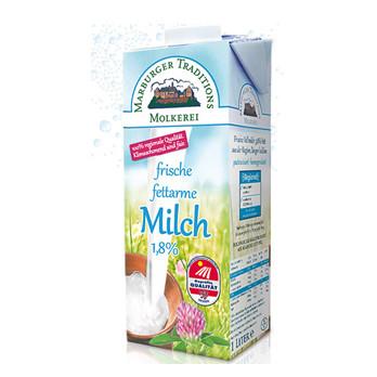 Frische fettarme Milch1,8%