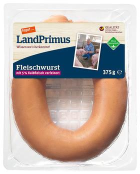 tegut... SB LandPrimus Fleischwurst