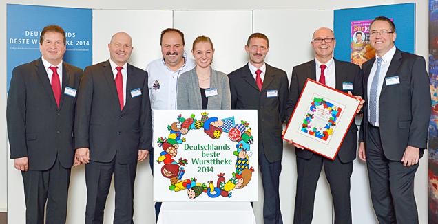 """Preisverleihung """"Deutschlands beste Wursttheke 2014"""" des tegut Marktes Bad Hersfeld"""
