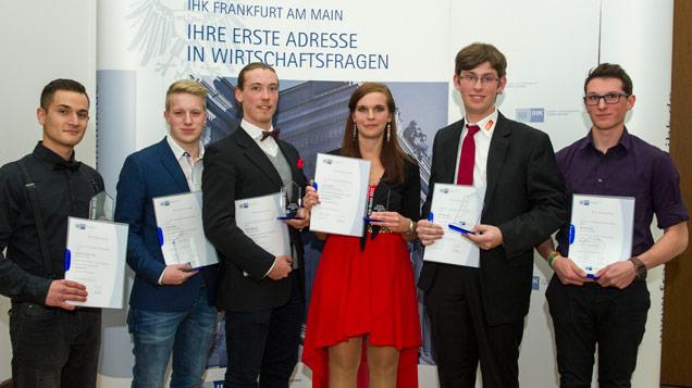 Auszeichnung der besten Verkäufer der IHK Frankfurt
