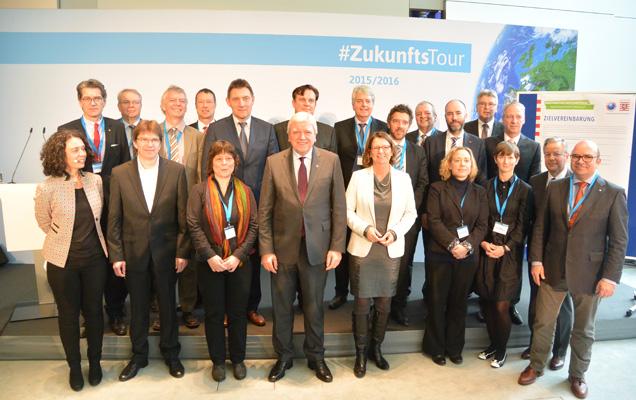 Unterzeichnung der Zielvereinbarung für nachhaltige Beschaffung