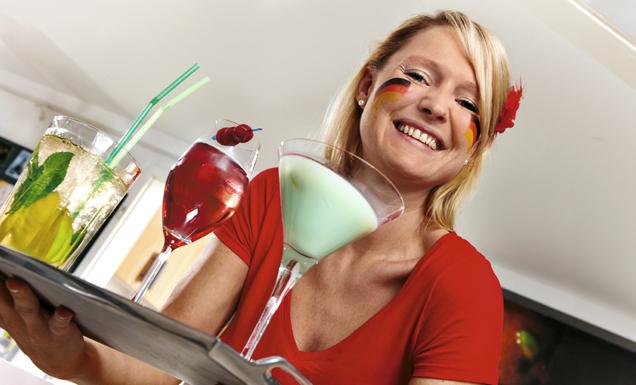 Cocktails servieren