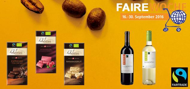 Fairtrade Produkte und Logo