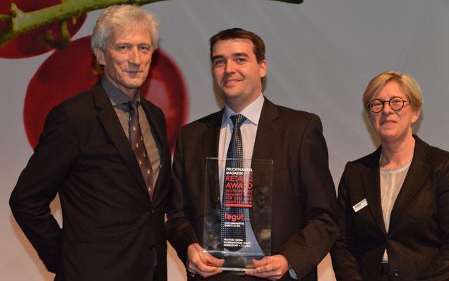 Preisverleihung des Retail Award für Bio-Produkte