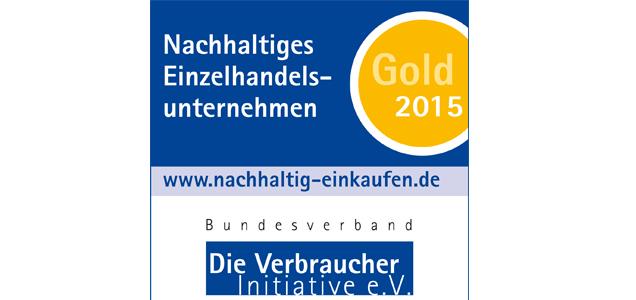 Gold Medaille Einzelhandel
