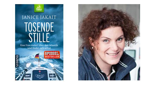 Buch Tosende Stille und Autorin Janice Jakait