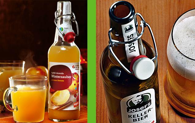 Josefs Kellerbier mit Glas