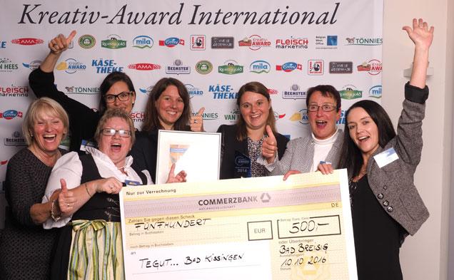 Siegerfoto des Käse-Award 2016